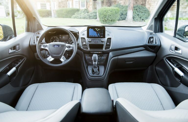 2019 Ford Transit Connect front seats