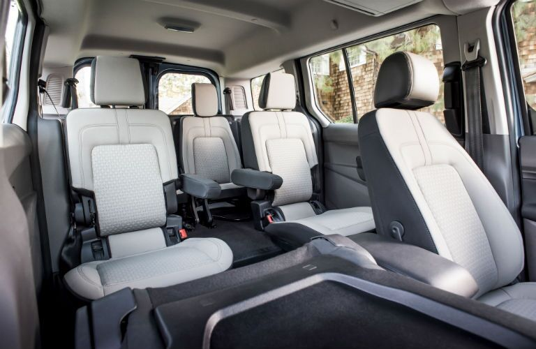 2019 Ford Transit Connect Passenger Wagon rear seats