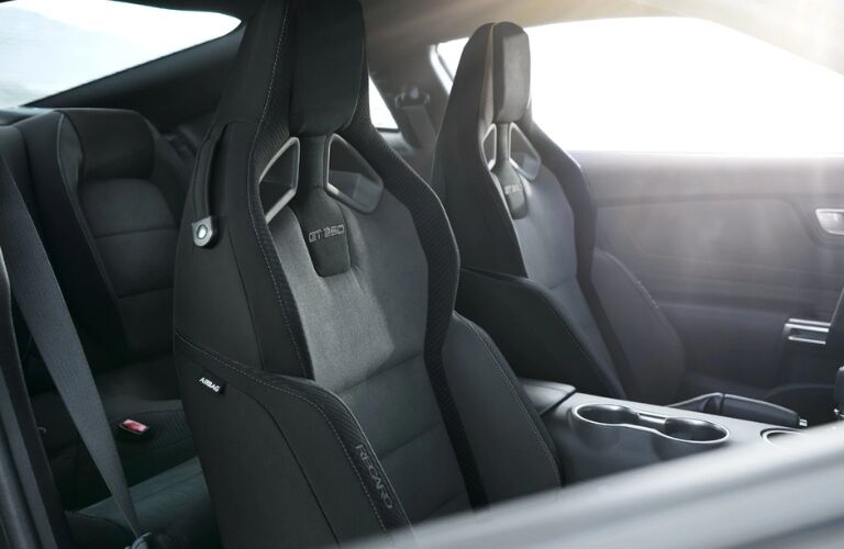 2019 Ford Mustang Shelby GT350 Recaro seats