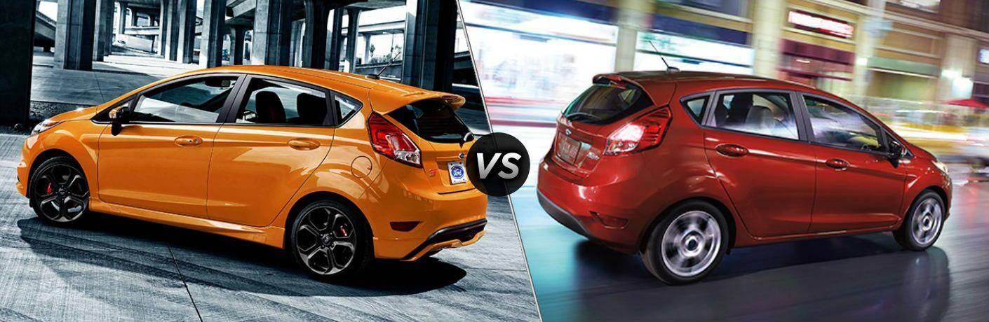 2019 Ford Fiesta vs 2018 Ford Fiesta