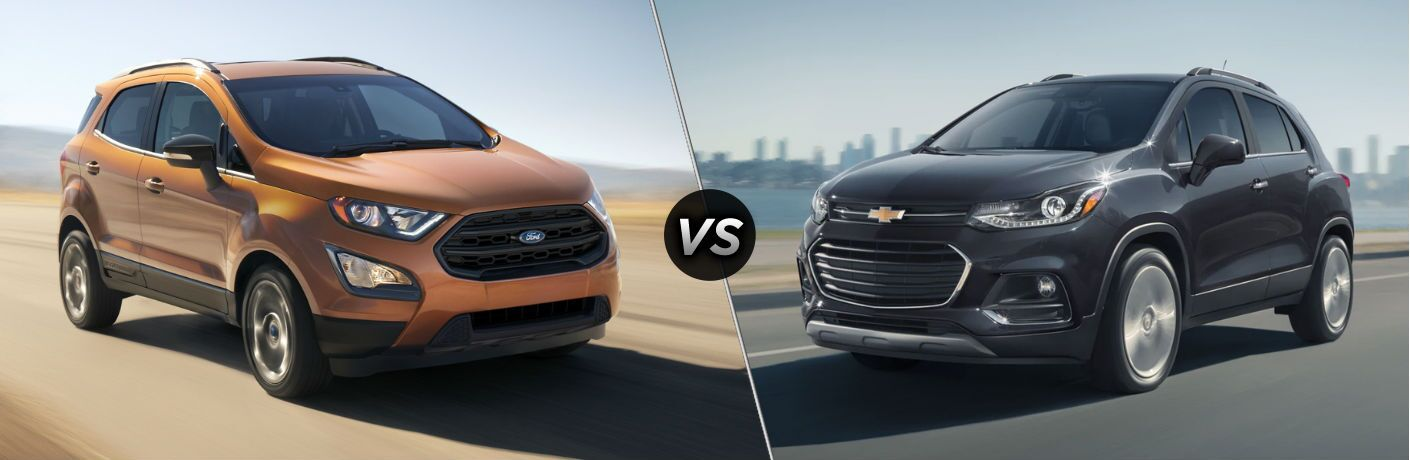 2020 Ford EcoSport vs 2020 Chevy Trax