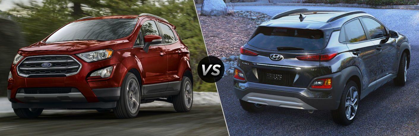 2020 Ford EcoSport vs 2020 Hyundai Kona