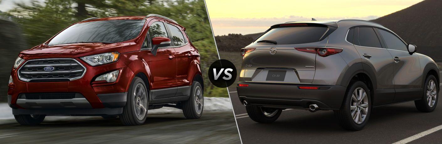 2020 Ford EcoSport vs 2020 Mazda CX-30