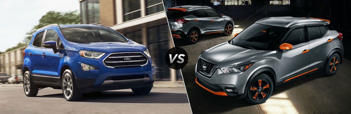2020 Ford EcoSport vs 2020 Nissan Kicks