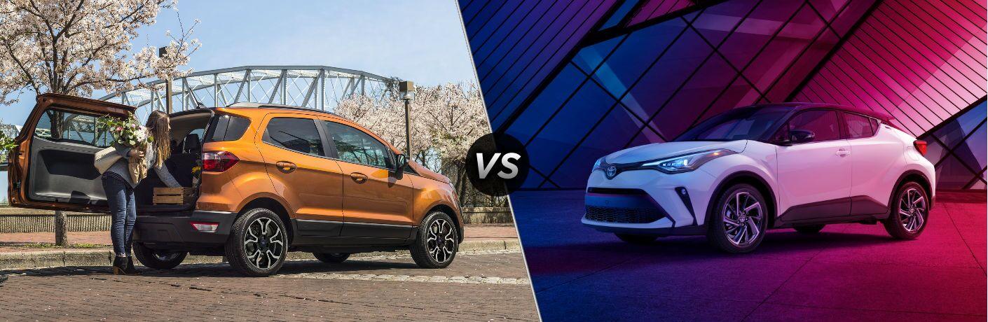 2020 Ford EcoSport vs 2020 Toyota C-HR