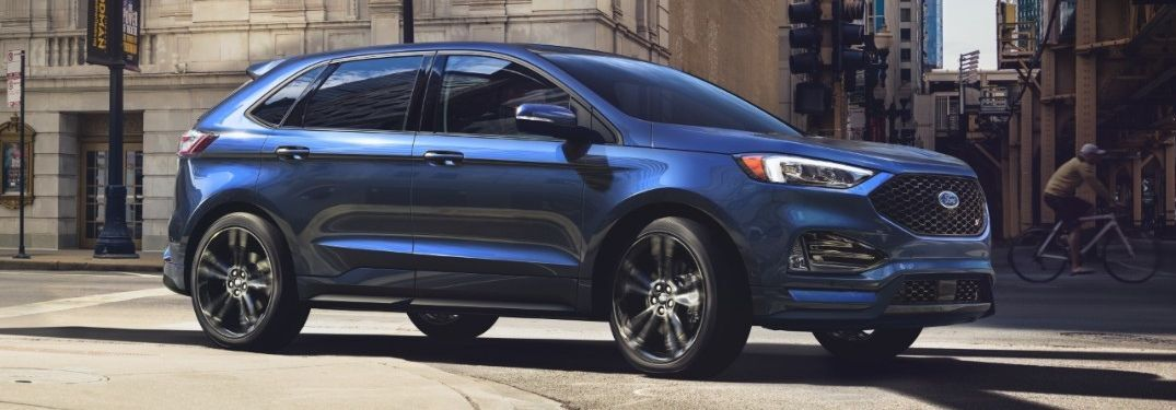 2020 Ford Edge ST on city street