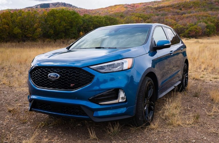 2020 Ford Edge ST in field