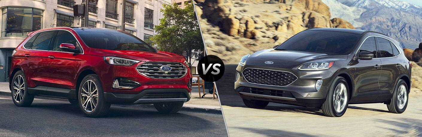2020 Ford Edge vs 2020 Ford Escape