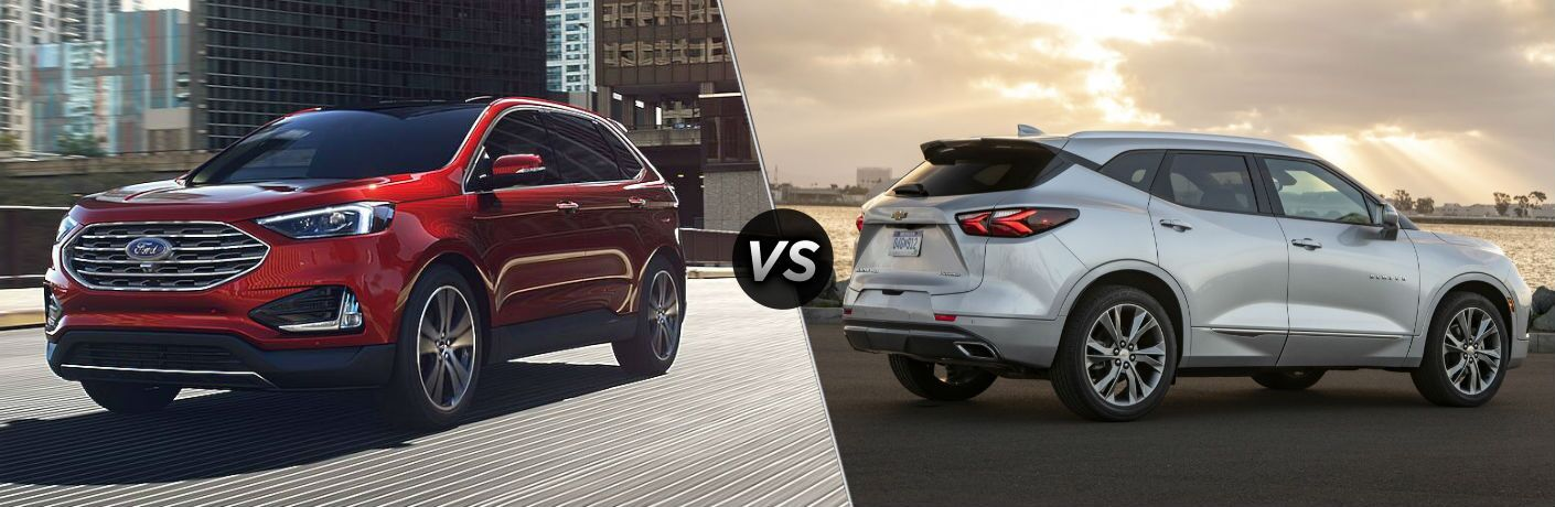 2020 Ford Edge vs 2020 Chevy Blazer