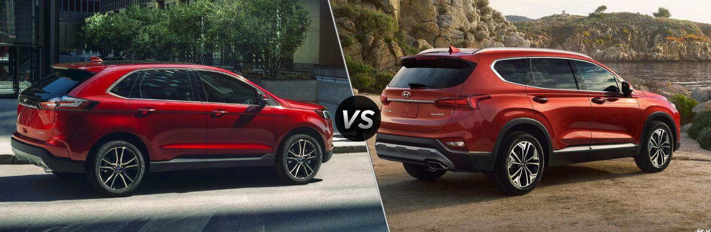 2020 Ford Edge vs 2020 Hyundai Santa Fe