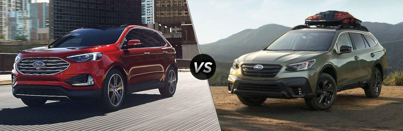 2020 Ford Edge vs 2020 Subaru Outback