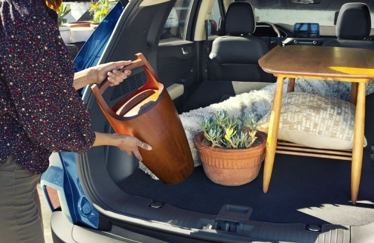 2020 Ford Escape cargo area