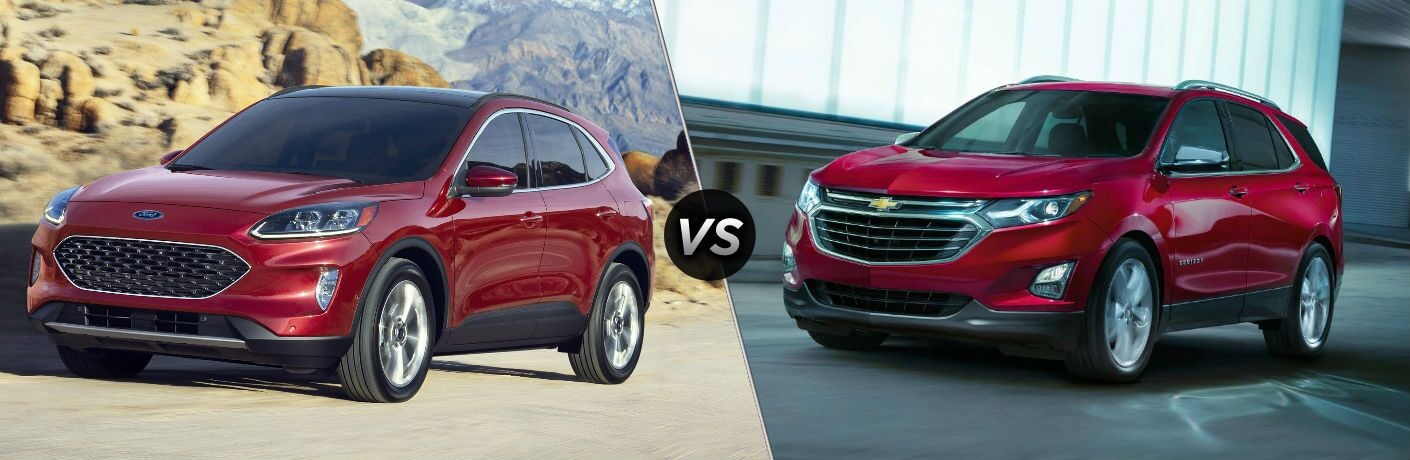 2020 Ford Escape vs 2019 Chevy Equinox
