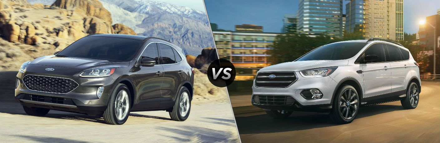 2020 Ford Escape vs 2019 Ford Escape