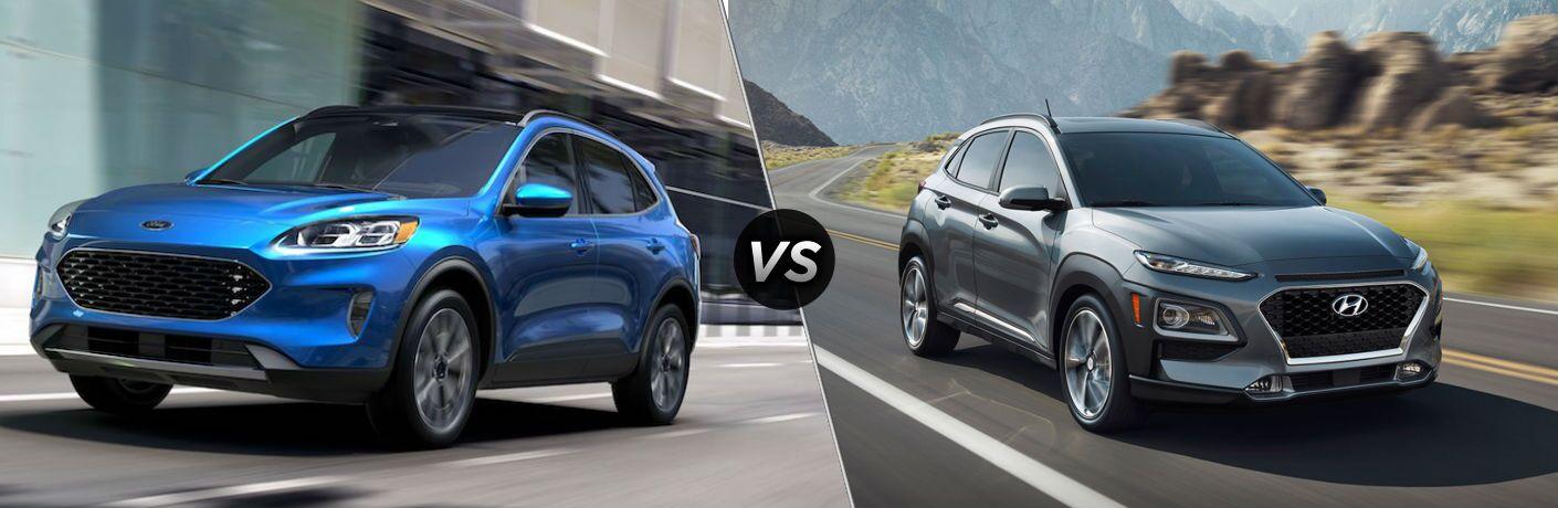 2020 Ford Escape vs 2020 Hyundai Kona