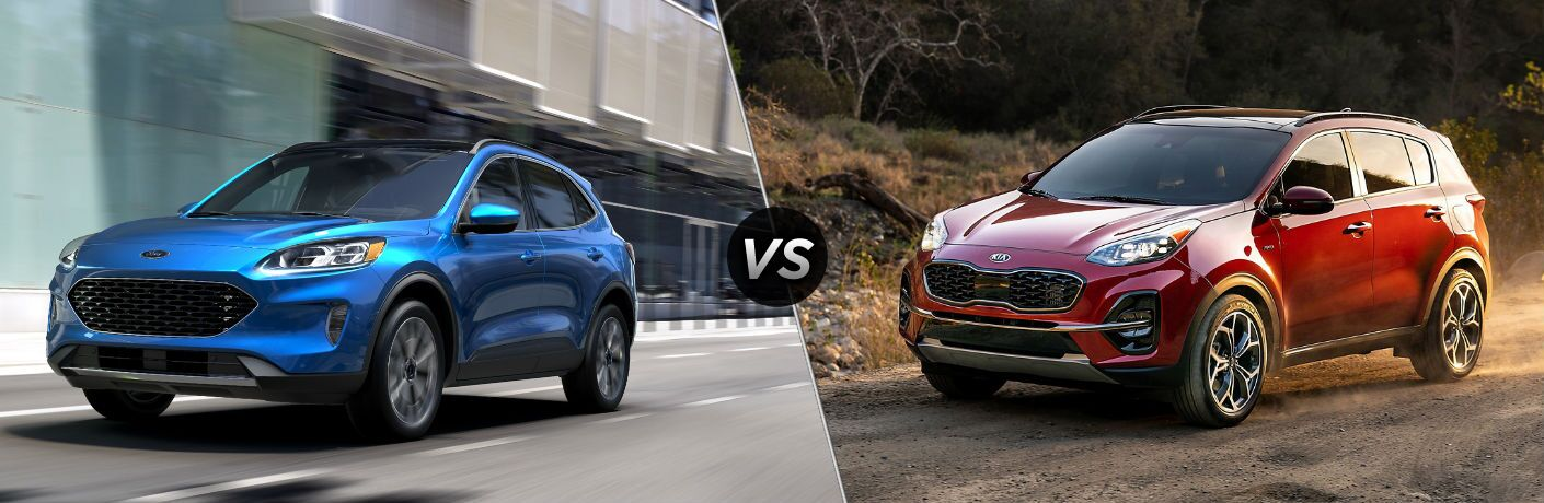 2020 Ford Escape vs 2020 Kia Sportage