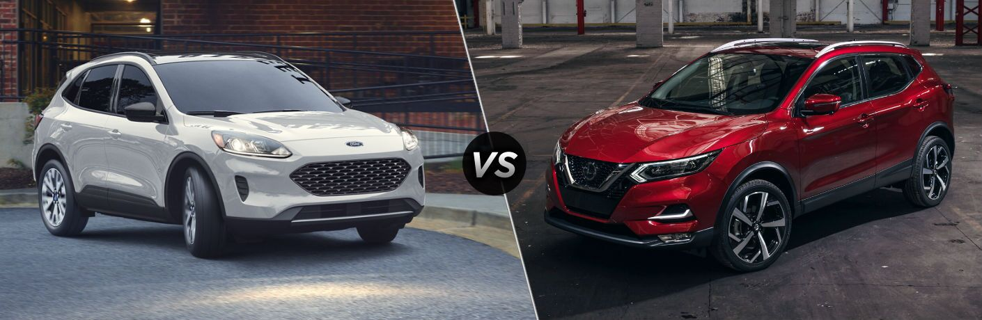 2020 Ford Escape vs 2020 Nissan Rogue