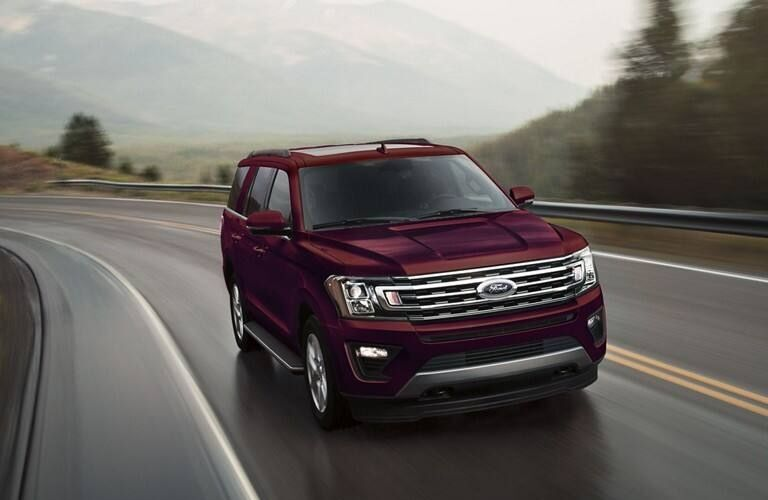 2020 Ford Expedition MAX on highway
