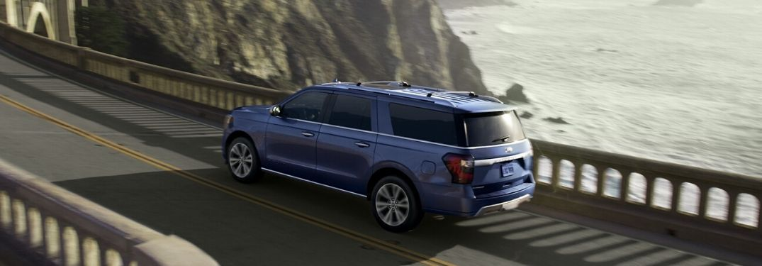 2020 Ford Expedition MAX on coastal road