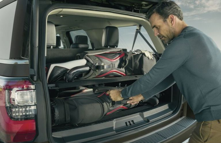 2020 Ford Expedition cargo area