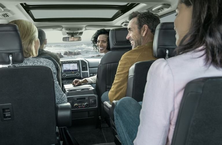 2020 Ford Expedition three-row seating