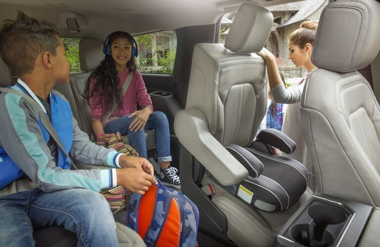 2020 Ford Expedition Platinum rear seats