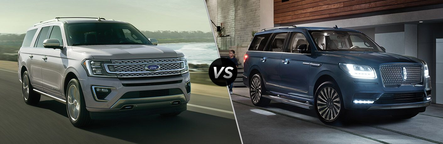 2020 Ford Expedition vs 2020 Lincoln Navigator