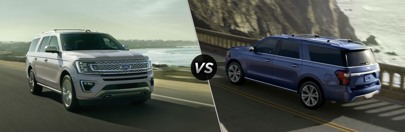 2020 Ford Expedition vs 2020 Ford Expedition MAX