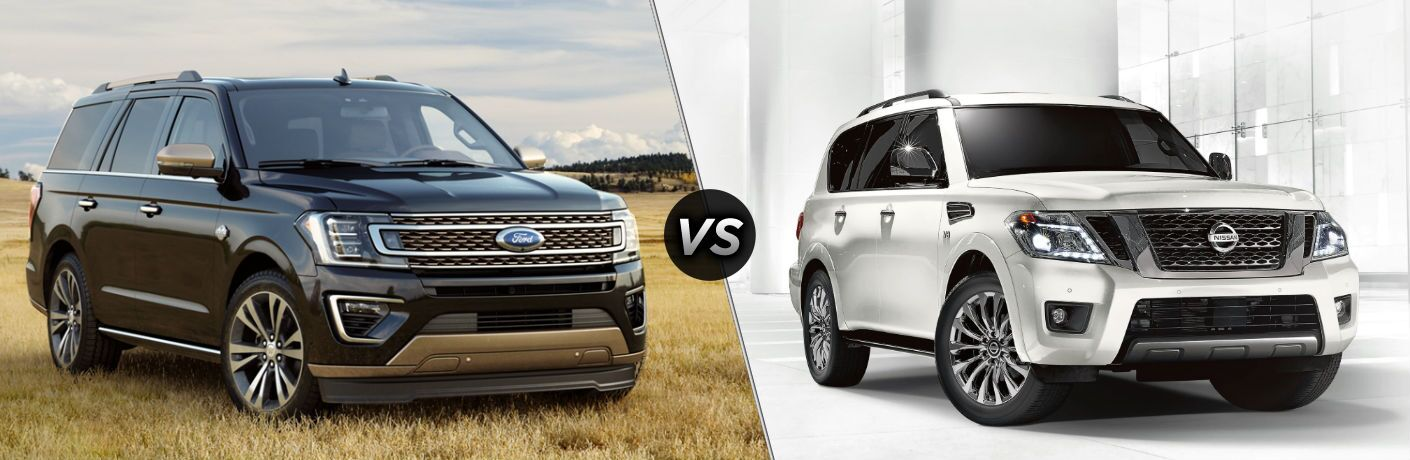 2020 Ford Expedition vs 2020 Nissan Armada
