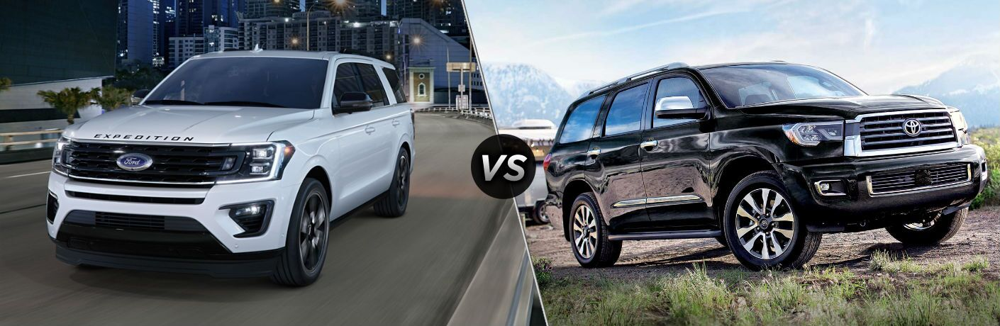 2020 Ford Expedition vs 2020 Toyota Sequoia