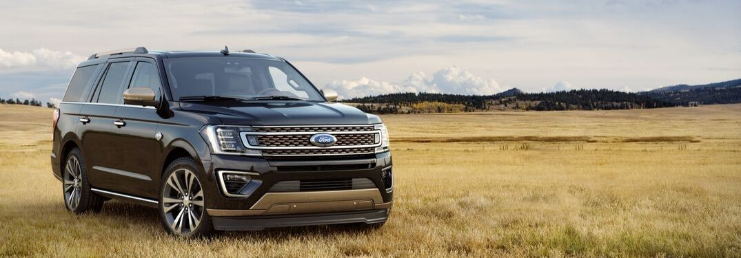 2020 Ford Expedition on grassy plain