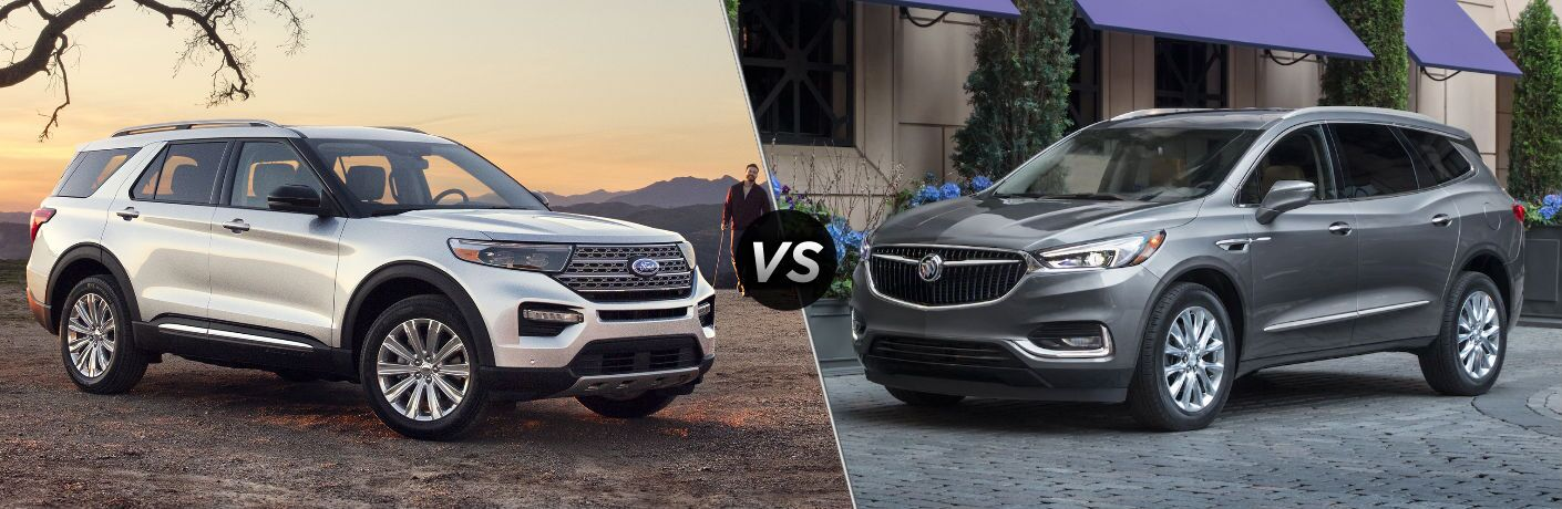 2020 Ford Explorer vs 2020 Buick Enclave