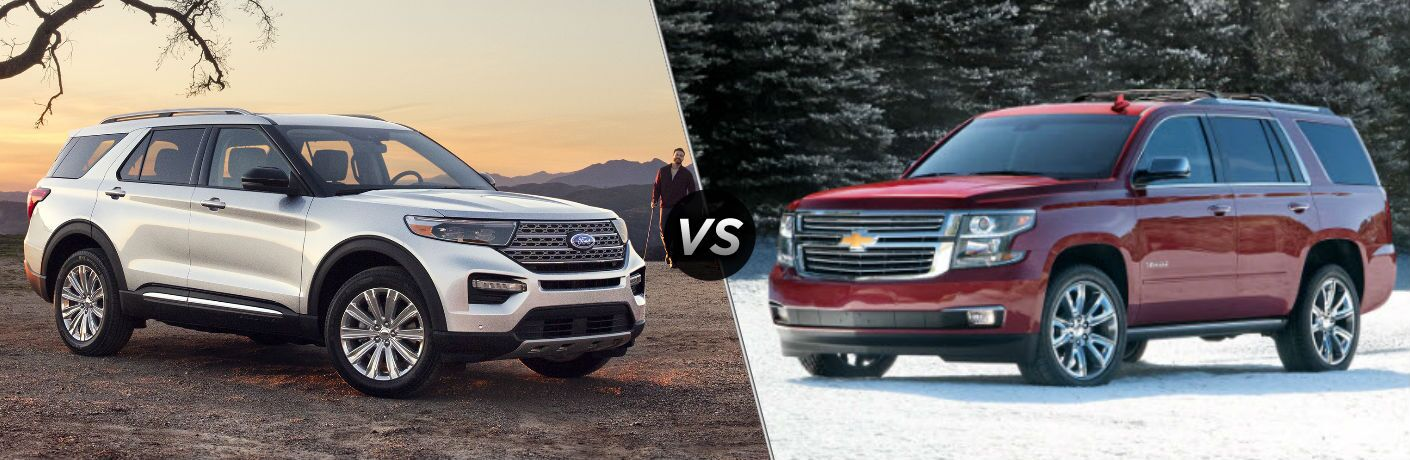 2020 Ford Explorer vs 2020 Chevy Tahoe