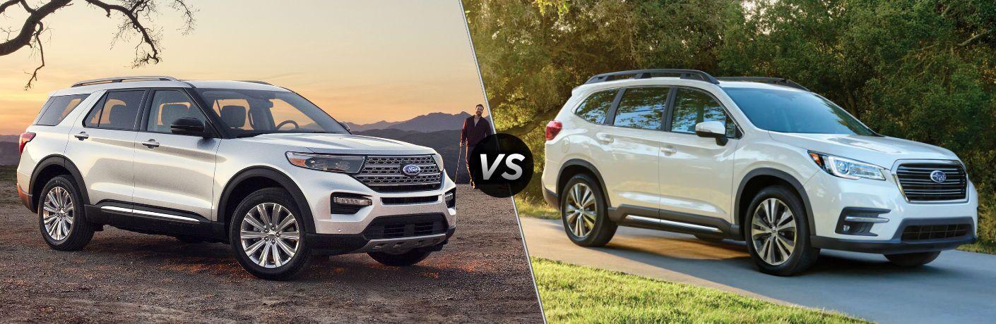 2020 Ford Explorer vs 2020 Subaru Ascent