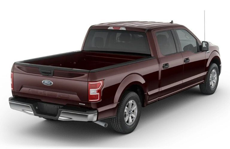 2020 Ford F-150 XLT SuperCrew Cab exterior from rear