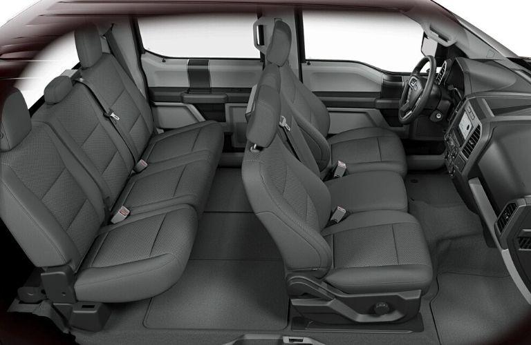 2020 Ford F-150 XLT SuperCrew Cab cabin