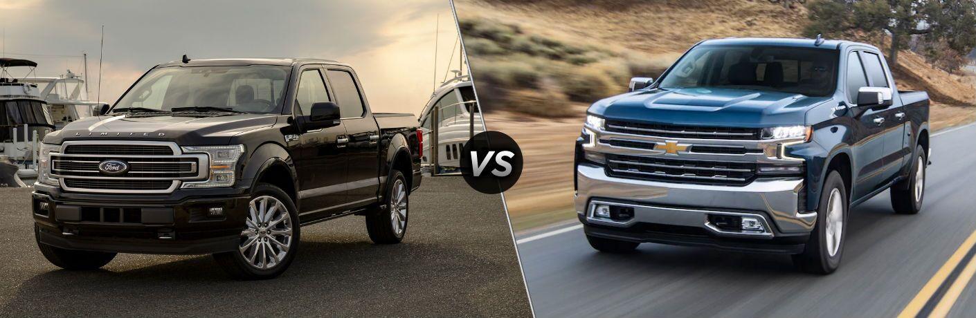 2020 Ford F-150 vs 2020 Chevy Silverado
