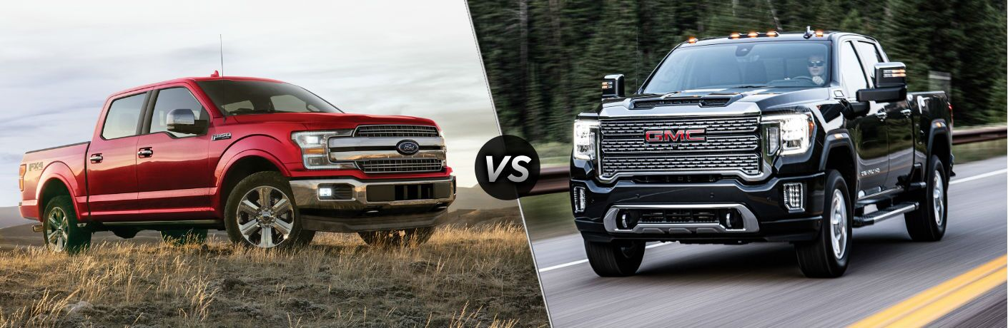 2020 Ford F-150 vs 2020 GMC Sierra