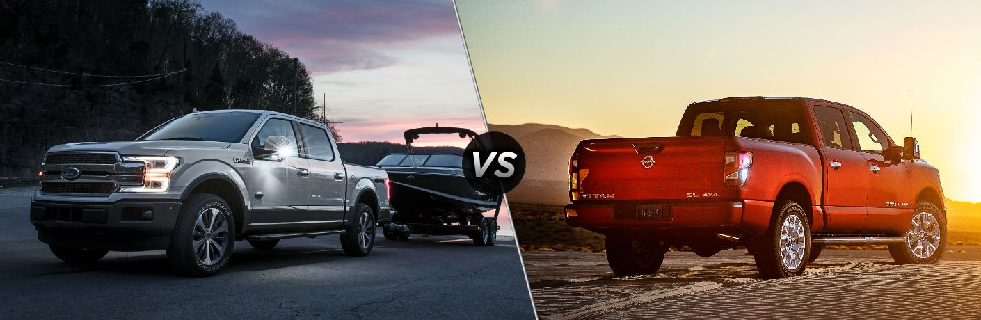 2020 Ford F-150 vs 2020 Nissan Titan