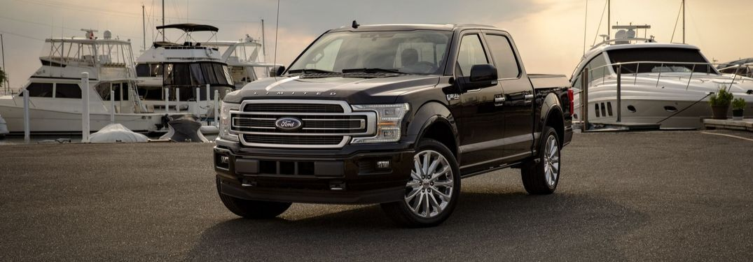 2020 Ford F-150 by docked boats