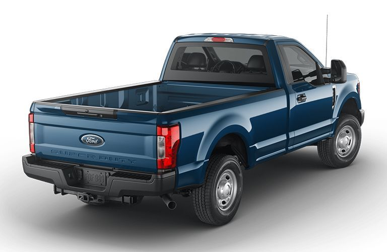 2020 Ford F-350 Super Duty viewed from rear