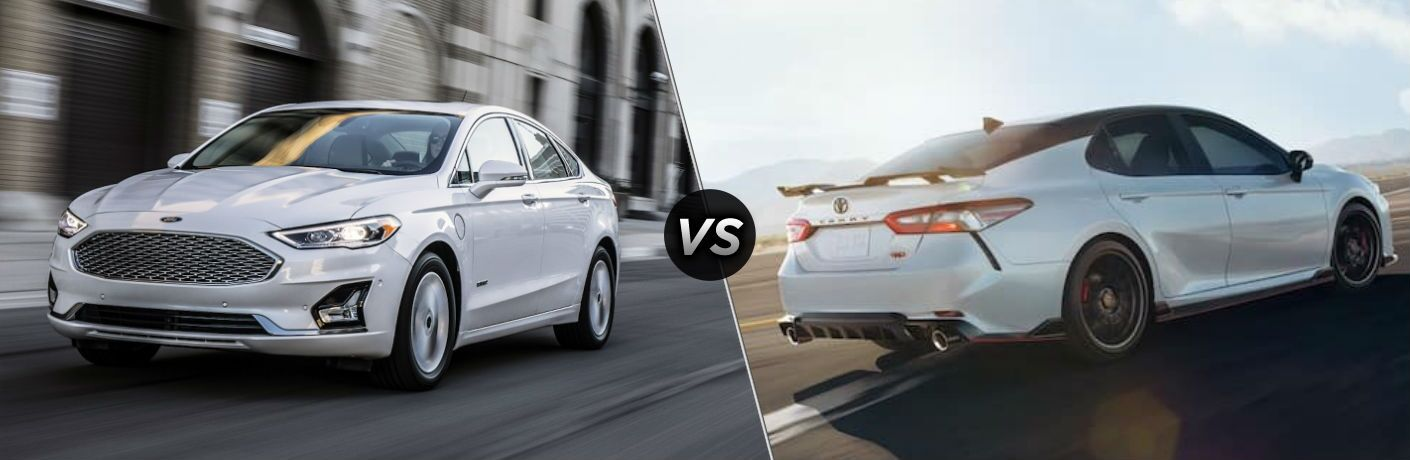 2020 Ford Fusion vs 2020 Toyota Camry