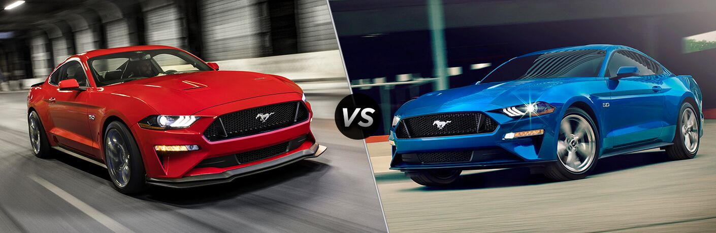 2020 Ford Mustang vs 2019 Ford Mustang