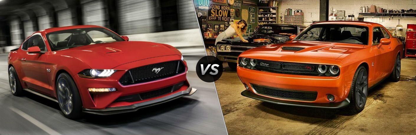 2020 Ford Mustang vs 2020 Dodge Challenger
