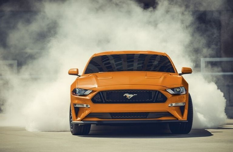 2020 Ford Mustang viewed from front