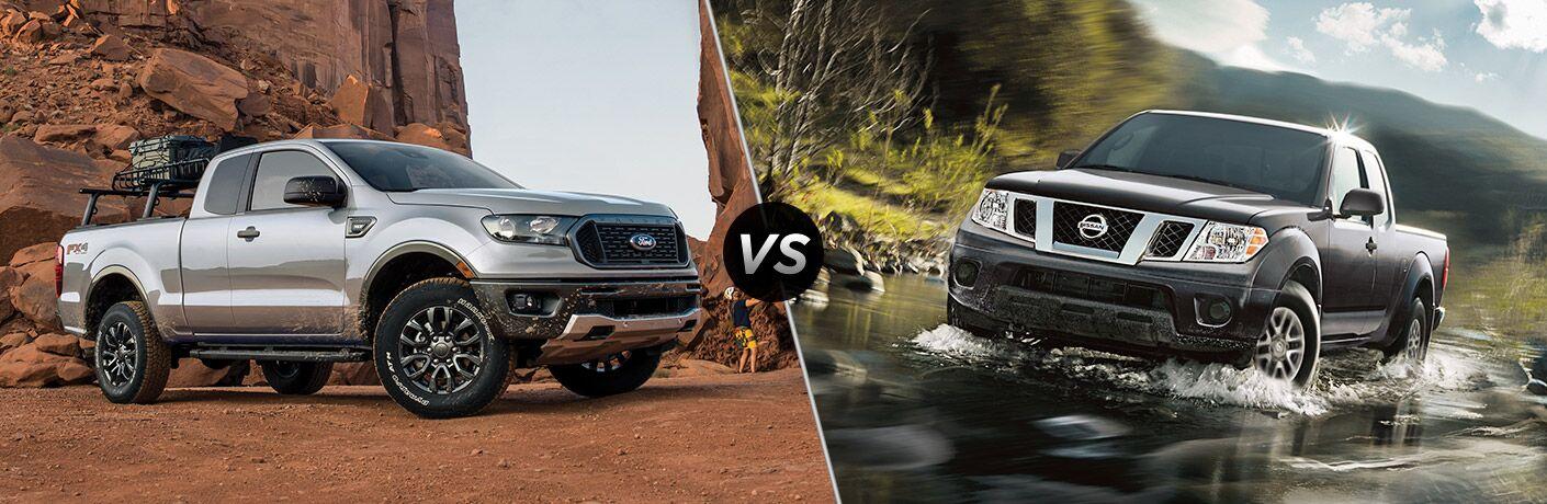 2020 Ford Ranger vs 2020 Nissan Frontier