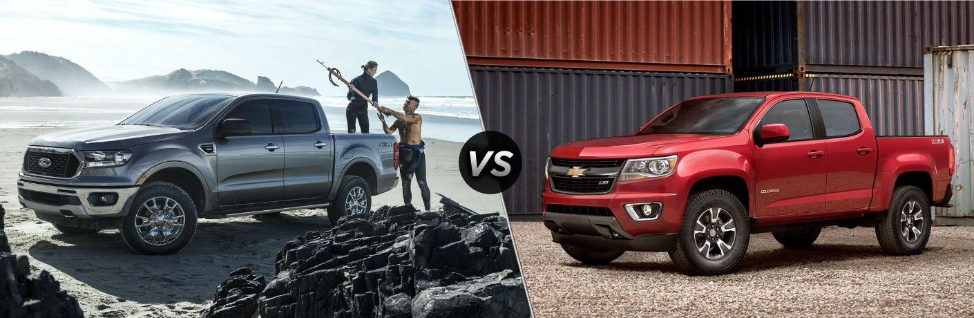 2020 Ford Ranger vs 2020 GMC Canyon