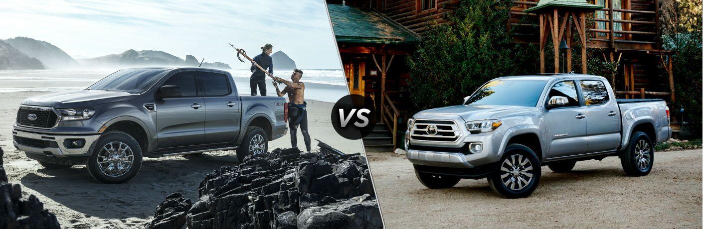 2020 Ford Ranger vs 2020 Toyota Tacoma