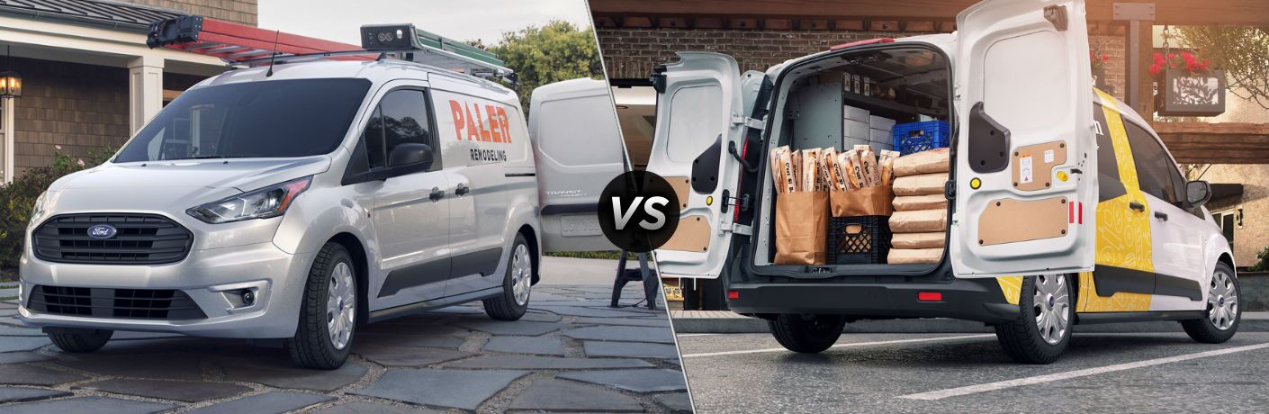 2020 Ford Transit Connect vs 2019 Ford Transit Connect