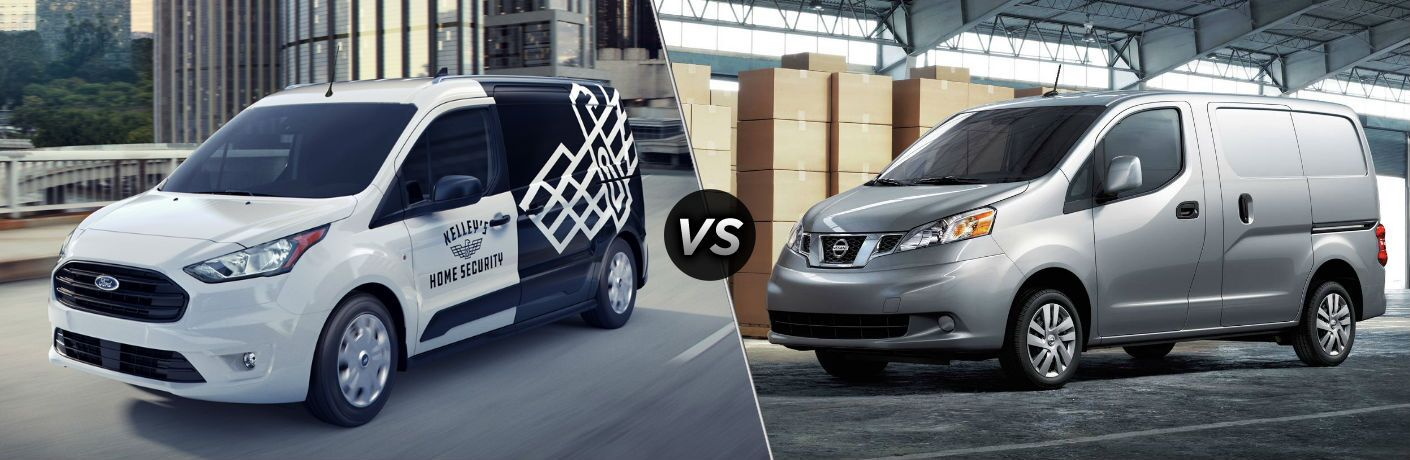 2020 Ford Transit Connect vs 2020 Nissan NV200